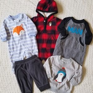 Just One You by Carter's Baby Boy Winter Bundle 3m